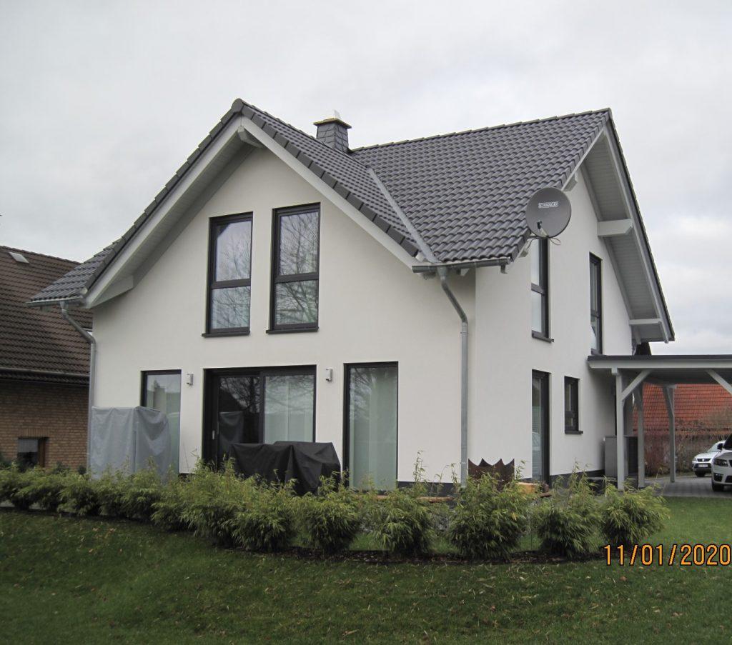Hausbau: EFH Holzrahmenbauweise
